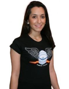 Camiseta Policía Local de Chica - Negra