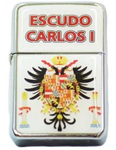 Carlos I badge lighter