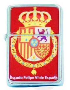 Zipo Escudo Felipe VI