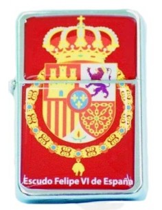 Felipe VI's badge lighter