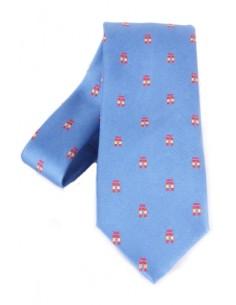 Tie Ñ- azure
