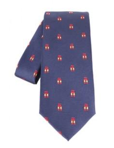 Tie Ñ- navy blue