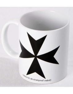 Taza Orden Templaria de Jerusalén