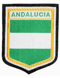 Embroidered patch Andalusia