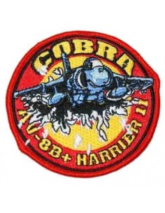 Embroidered patch Patrol Cobra AV 8B Harrier II