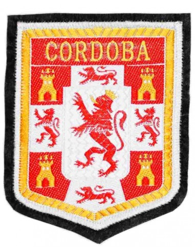 Thermo-adhesive embroidered patch of Cordoba