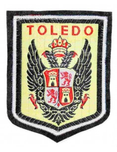 Embroidered patch Toledo