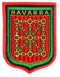 Parche Termo-Adhesivo Reino de Navarra