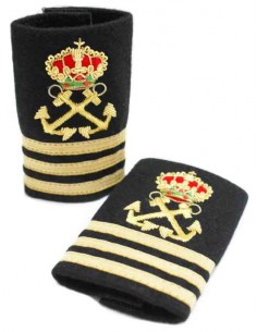Yacht captain's epaulet