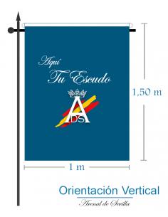 Bandera Personalizada (Or. Vertical)
