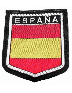 Embroidered patch Flag Spain Legend