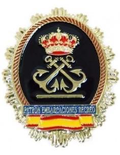 Placa Patrón Embarcaciones de Recreo