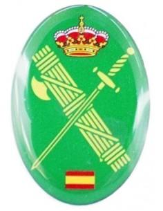 Civil Guard badge sticker