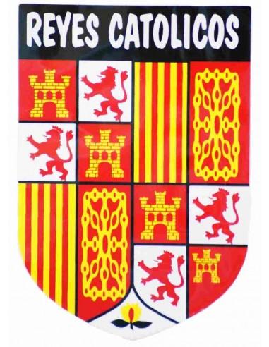 Pegatina de Los Reyes Católicos