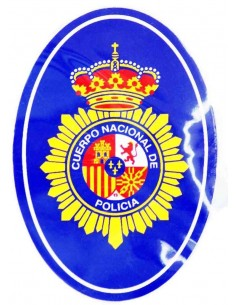 National police squad sticker