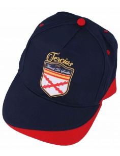 Gorra Azul-Roja de Los Tercios Españoles