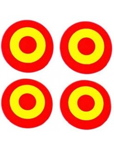 Escarapela sticker 4 units.