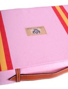 Almohadilla Bandera España - Rosa