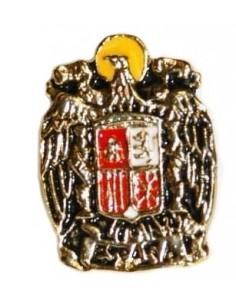 Pin Bandera España y Bandera Carlista