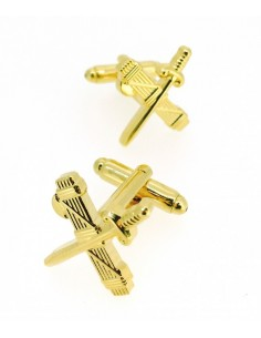 Civil Guard badge cufflinks