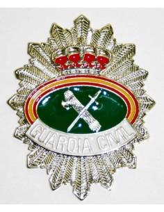 Placa Guardia Civil con Rafagado Escudo Ovalado