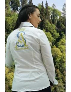 Camisa Arenal de Sevilla de Mujer - Blanca