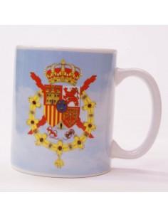 Taza Casa Real Juan Carlos I Rey De España