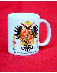 Taza Escudo de Armas Carlos I de España