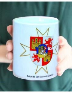 San Juan of Castilla badg cup