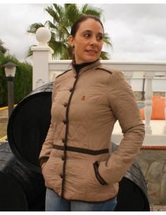 Chaqueta - Parka de Mujer Camel