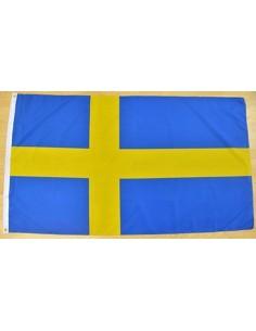Bandera Suecia Poliéster 1.50 x 0.90 mtos