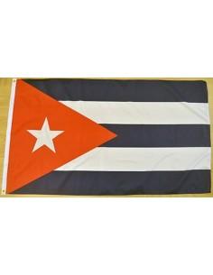 Bandera República de Cuba Poliéster