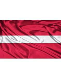 Bandera República de Letonia