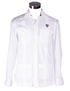 Cuban Guayabera Shirt - White