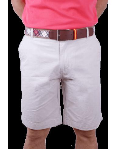 Pantalón Corto Sport Beige