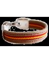 Bracelet Sailcloth Flag Spain Beige