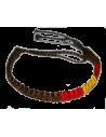 Bracelet Brown or Blue waxed thread Model 3