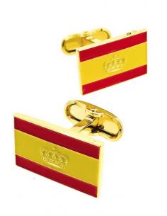Gemelos bandera España Naútica