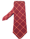 Corbata Burdeos Rombos