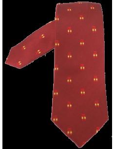 Corbata Ñ - Burdeos