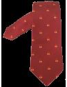 Corbata Ñ Burdeos