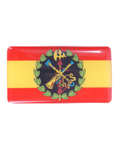 Highlight Sticker Spanish Flag with coat of arms of the Legion