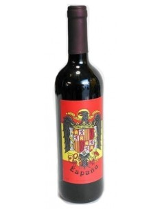 Botella Vino Águila San Juan