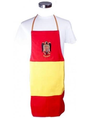 Delantal Bandera España Águila