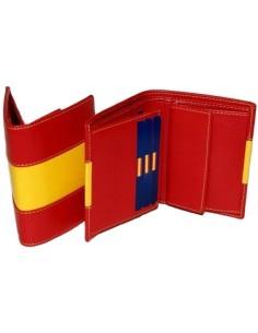 Cartera Bandera España con Bolsillo
