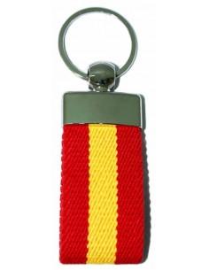 Keychain Elastic Spanish Flag