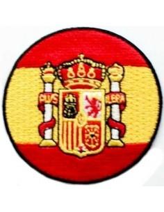 Parche Bordado Bandera España Redondo