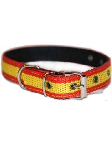 Collar Perro Grande Bandera España