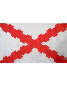 Bandera Cruz Borgoña o Cruz de San Andrés Exterior