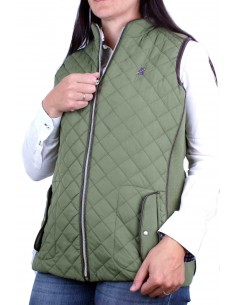 Sleeveless Parka - Green